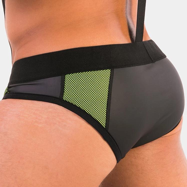 Brief Thomas - Neon Green - Barcode Berlin - trender-wear.myshopify.com