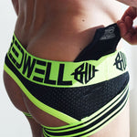 Blacklight Circuit Jock - Neon Green