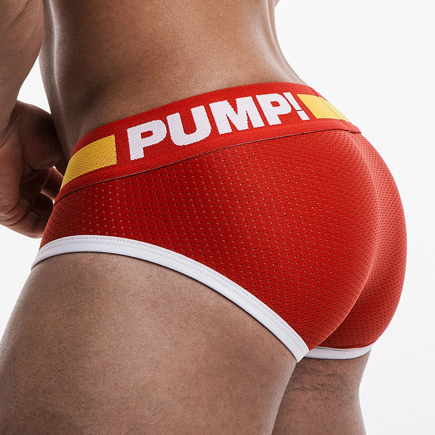 Flash Brief - Red - PUMP! - trender-wear.myshopify.com