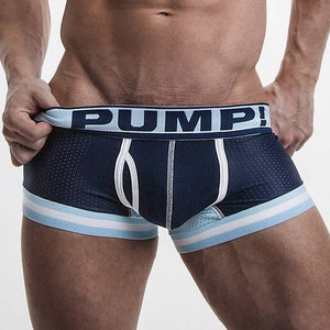 Blue Steel Touchdown Boxer Front by PUMP! Underwear at Trenderwear.com