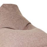 Moby Bean Bag + Ottoman in Brown - Ministry of Chair