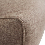 Ritchie Bean Bag Sofa in Coffee Brown