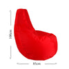 Snugness Bean Bag Red