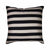 Cushion Stripe-Black