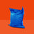 Giant Pillow Bean Bag Blue