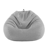 Julianne Bean Bag, Grey - Ministry of Chair
