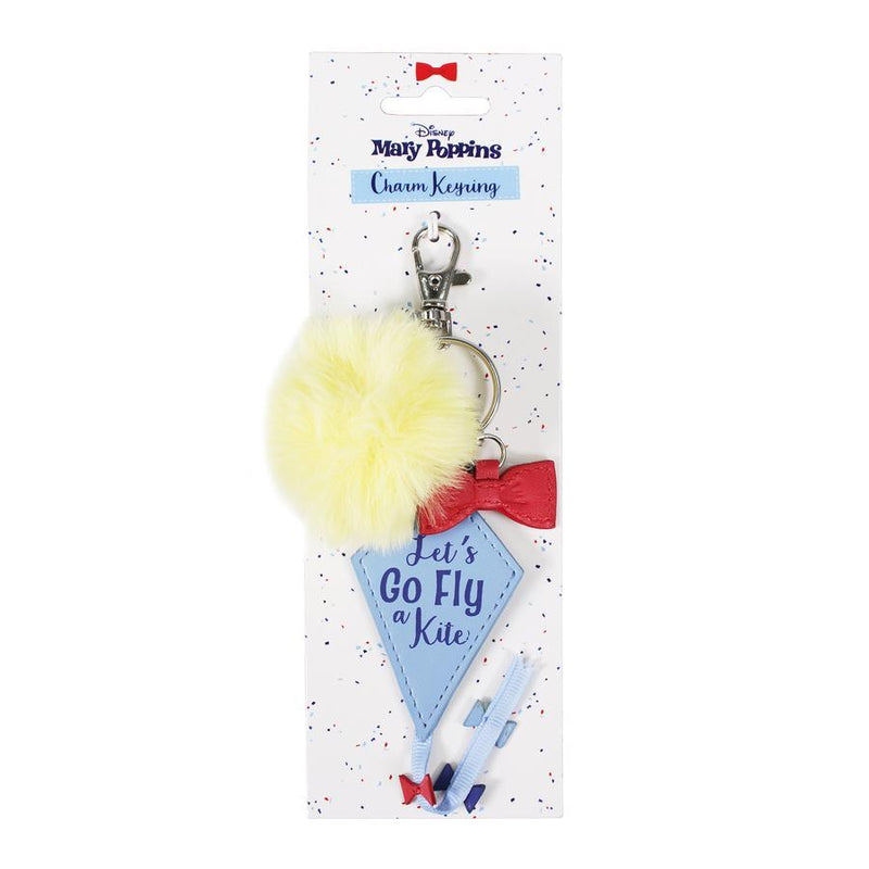 Mary Poppins Keyring with Charms - Let's Go Fly a Kite - Olleke | Disney and Harry Potter Merchandise shop