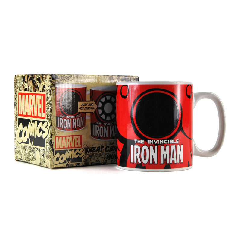 Marvel Heat Changing Mug - Iron Man