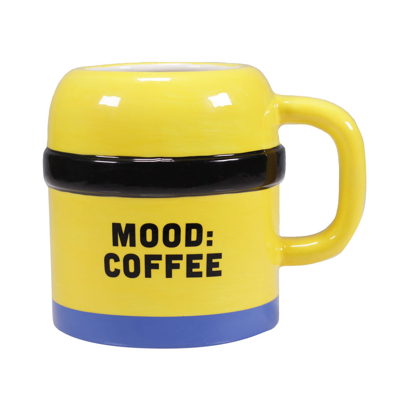 Minions Shaped Mug - Mood: Coffee