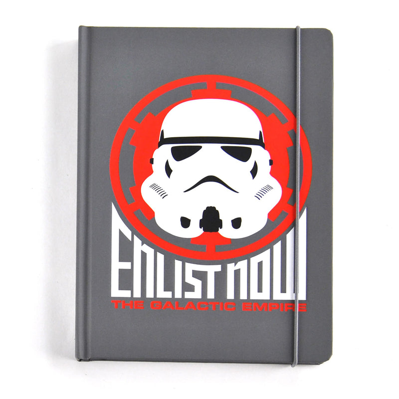 Star Wars A5 Notebook - Stormtrooper - Olleke | Disney and Harry Potter Merchandise shop