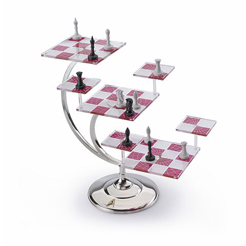 Star Trek Tri-Dimensional Chess Set - Olleke | Disney and Harry Potter Merchandise shop