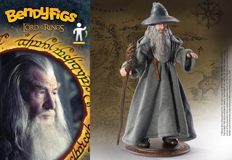Lord of the rings Bendyfigs Bendable Figure Gandalf - Olleke | Disney and Harry Potter Merchandise shop