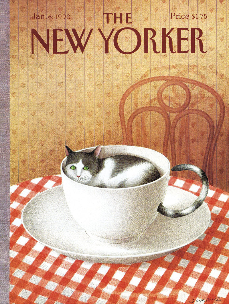 The New Yorker Cover Cattuccino 1000 piece Jigsaw Puzzle