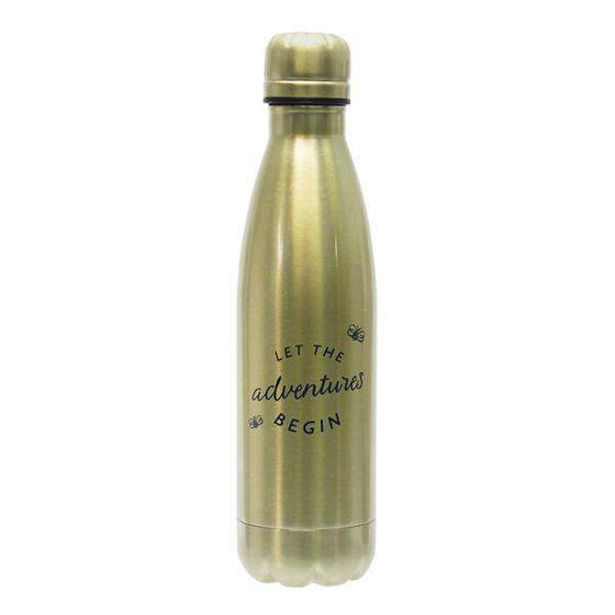 Decoration - Disney Winnie The Pooh Water Bottle - Let The Adventures Begin
