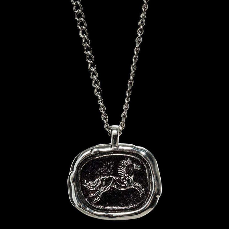 Lord of the Rings Pendant and Chain Rohan Wax Seal - Olleke | Disney and Harry Potter Merchandise shop