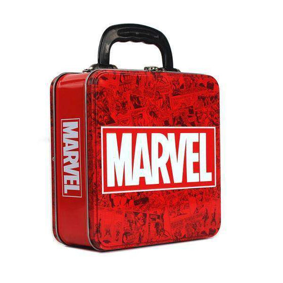 Decoration - Marvel Embossed Tin Tote - Marvel Logo