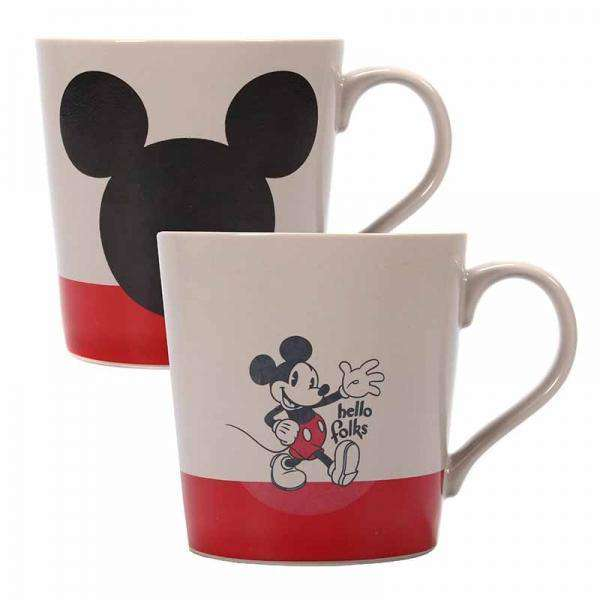 Mickey Mouse Heat Changing Tapered Mug - It All Started With A Mouse - Olleke | Disney and Harry Potter Merchandise shop