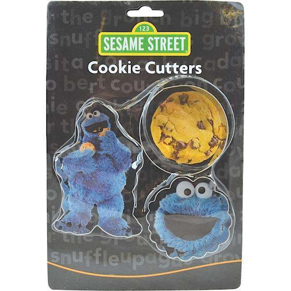 Sesame Street Cookie Cutters - Cookie Monster - Olleke | Disney and Harry Potter Merchandise shop