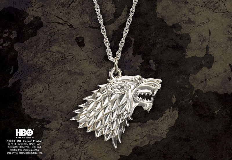 Stark Pendant Sterling Silver Olleke | Disney and Harry Potter Merchandise shop The Noble Collection