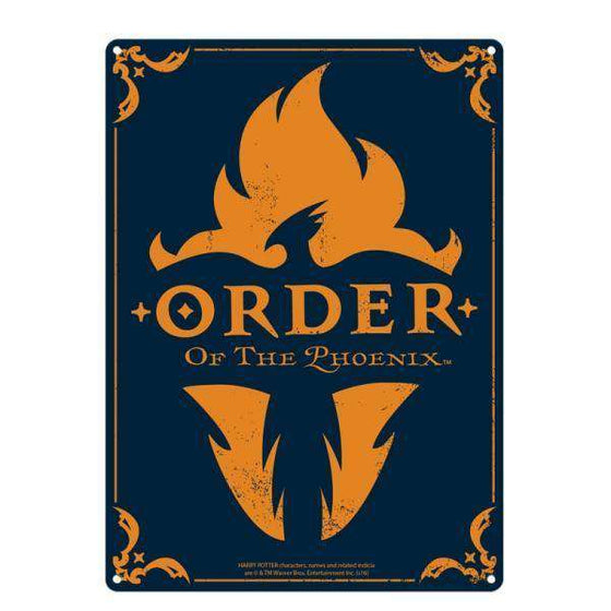 Tin Sign Large - Harry Potter (Order Of The Phoenix) Olleke | Disney and Harry Potter Merchandise shop Harry Potter