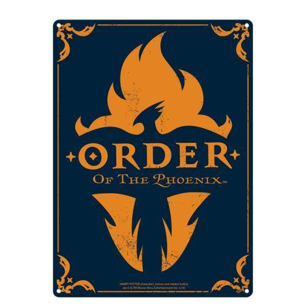 Tin Sign Large - Harry Potter (Order Of The Phoenix) - Olleke | Disney and Harry Potter Merchandise shop