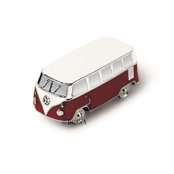 VW Collection 3D Magnet in a Gift Tin - Camper (Red) - Olleke | Disney and Harry Potter Merchandise shop