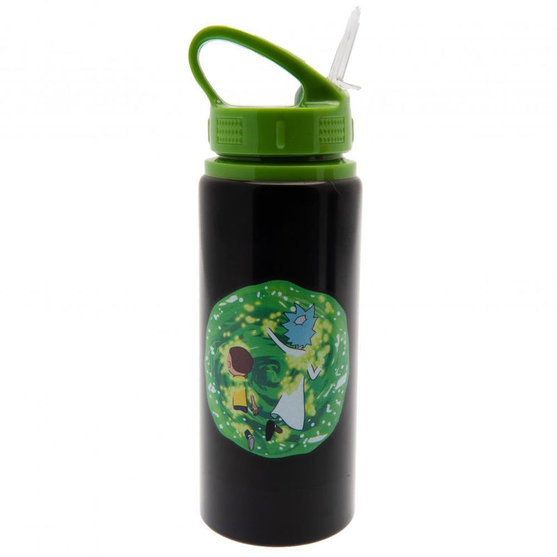 Rick And Morty Aluminium Drinks Bottle - Olleke | Disney and Harry Potter Merchandise shop