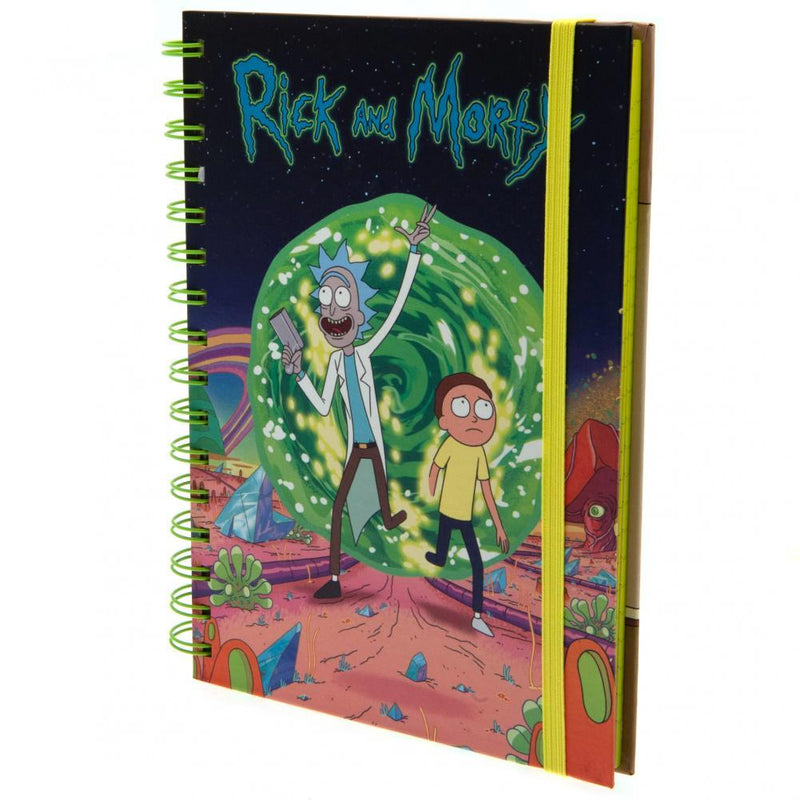 Rick And Morty Notebook - Olleke | Disney and Harry Potter Merchandise shop