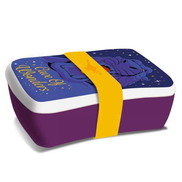 Disney Aladdin Bamboo Lunch Box - Cave of Wonders - Olleke | Disney and Harry Potter Merchandise shop