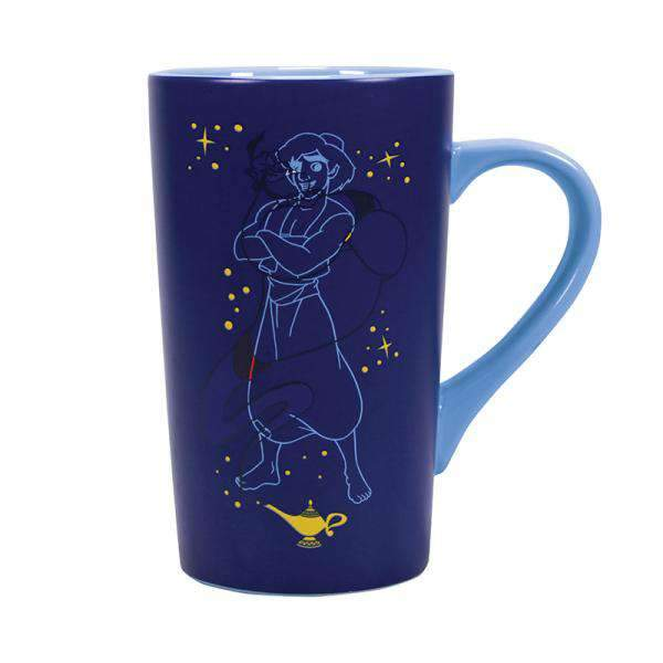 Disney Aladdin Heat Changing Latte Mug - Aladdin & Genie - Olleke | Disney and Harry Potter Merchandise shop