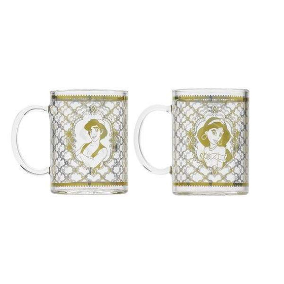 Disney Aladdin Shaped Tea Pot and Glasses - Lamp (Three Wishes) Olleke | Disney and Harry Potter Merchandise shop Disney