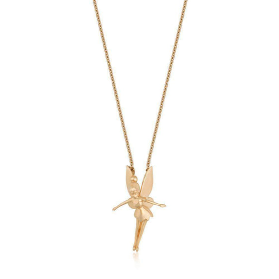 Disney Precious Metal Tinker Bell Necklace Olleke | Disney and Harry Potter Merchandise shop Couture Kingdom