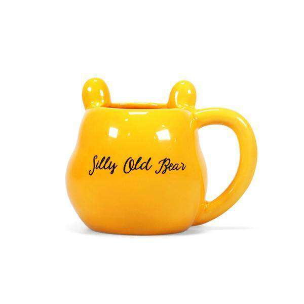 Disney Winnie The Pooh 3D Shaped Mug - Silly Old Bear - Olleke | Disney and Harry Potter Merchandise shop