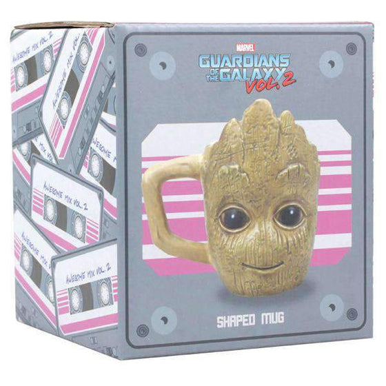 Fairytales & Icons - Marvel Guardians Of The Galaxy Shaped Mug - Groot