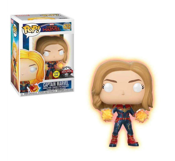Fairytales & Icons - Marvel POP! Captain Marvel - Glowing Hands (Exclusive)