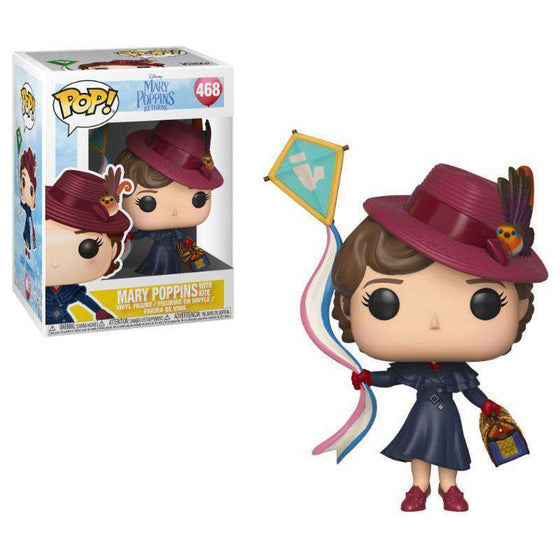 Mary Poppins 2018 POP! Disney Vinyl Figure Mary with Kite Olleke | Disney and Harry Potter Merchandise shop Funko