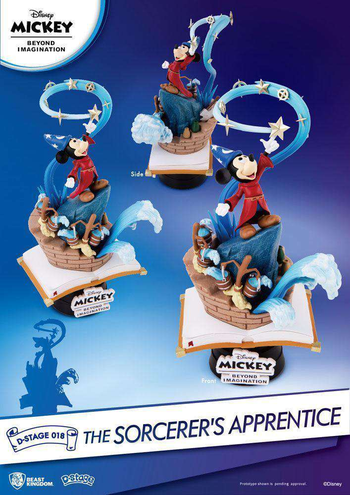 Mickey Beyond Imagination Diorama The Sorcerer's Apprentice - Olleke | Disney and Harry Potter Merchandise shop
