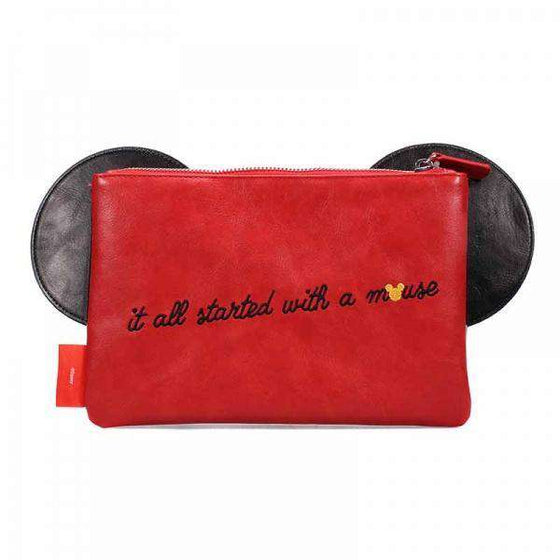 Mickey Mouse Travel Pouch - It All Started With A Mouse Olleke | Disney and Harry Potter Merchandise shop Disney
