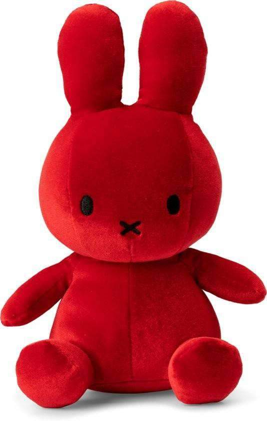 Miffy Plush Velvet 23 cm Olleke | Disney and Harry Potter Merchandise shop Olleke