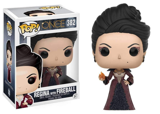 Once Upon a Time POP! Television Vinyl Figure Regina with Fireball Olleke | Disney and Harry Potter Merchandise shop Funko