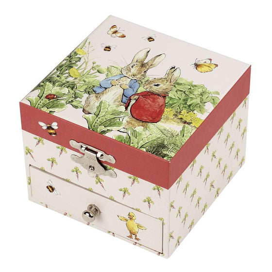 Fairytales & Icons - Peter Rabbit Musical Cube Box - Carrot