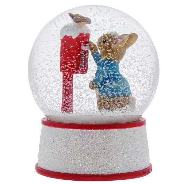 Peter Rabbit's Letter to Santa Water Ball - Olleke | Disney and Harry Potter Merchandise shop