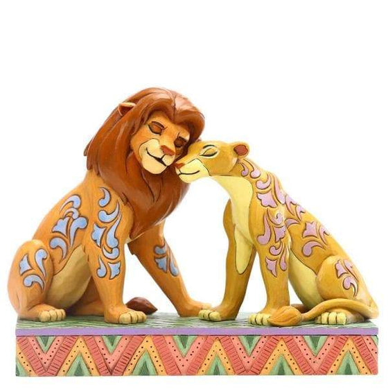 Savannah Sweethearts (Simba and Nala Figurine) Olleke | Disney and Harry Potter Merchandise shop Enesco