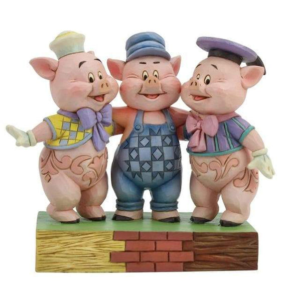 Squealing Siblings (Silly Symphony Three Little Pigs) Olleke | Disney and Harry Potter Merchandise shop Enesco