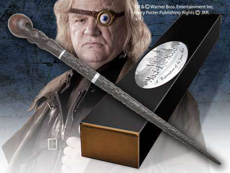 Alastor Mad-Eye Moody Character Wand Olleke | Disney and Harry Potter Merchandise shop The Noble Collection