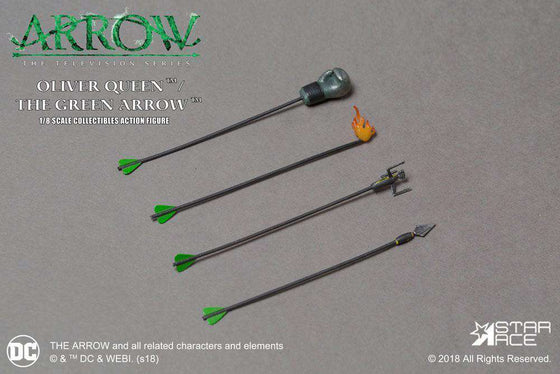 Films & Series - Arrow Real Master Series Action Figure 1/8 Green Arrow Deluxe Version 23 Cm