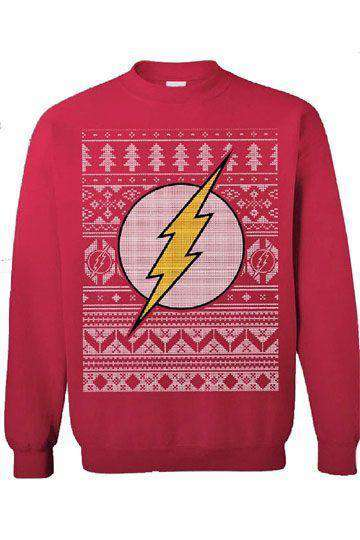 Films & Series - DC Comics Sweater The Flash Christmas