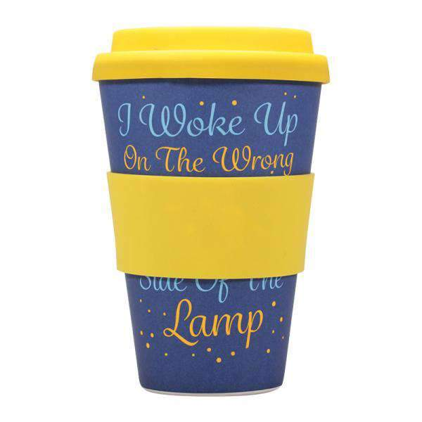 Disney Aladdin Bamboo Travel Mug - Genie (Wrong Side of the Lamp) - Olleke | Disney and Harry Potter Merchandise shop