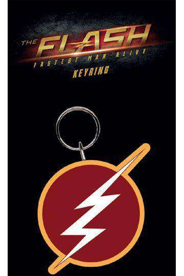 Flash Rubber Keychain Logo - Olleke | Disney and Harry Potter Merchandise shop