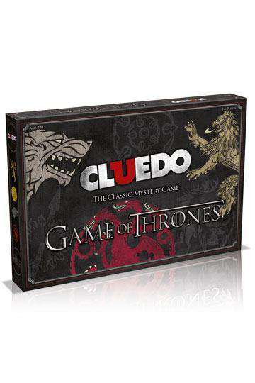 Game of Thrones Board Game Cluedo - Olleke | Disney and Harry Potter Merchandise shop